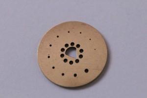 Senzory měření stlačeného vzduchu hasící techniky. Vrtání ot. pr. 0,15, 0,21, 0,26, 0,30, 0,33, 0,38, 0,40, 0,43, 0,48, 0,53, 0,60 mm // Sensors of fire extinguisher's pressure. Drilling diameter 0,15, 0, 21, 0,26, 0,30, 0,33, 0,38, 0,40, 0,43, 0,48, 0,53, 0,60 mm